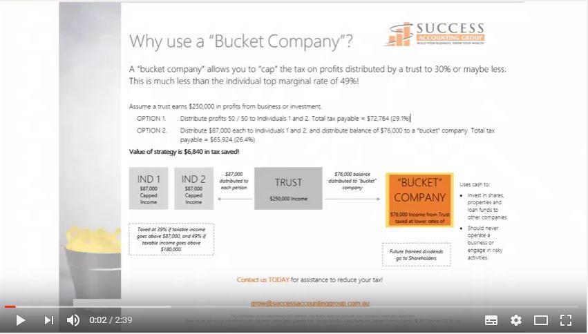 Why use a Bucket company?